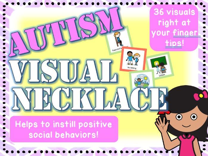 Autism Visual Necklace