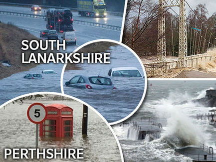 Effects of UK flooding, Flooding role play, 2012- Britain wettest year