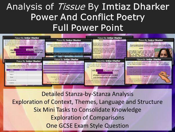 Tissue Poem Power Point