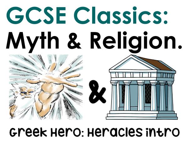 Myth and Religion- Background myth of Heracles