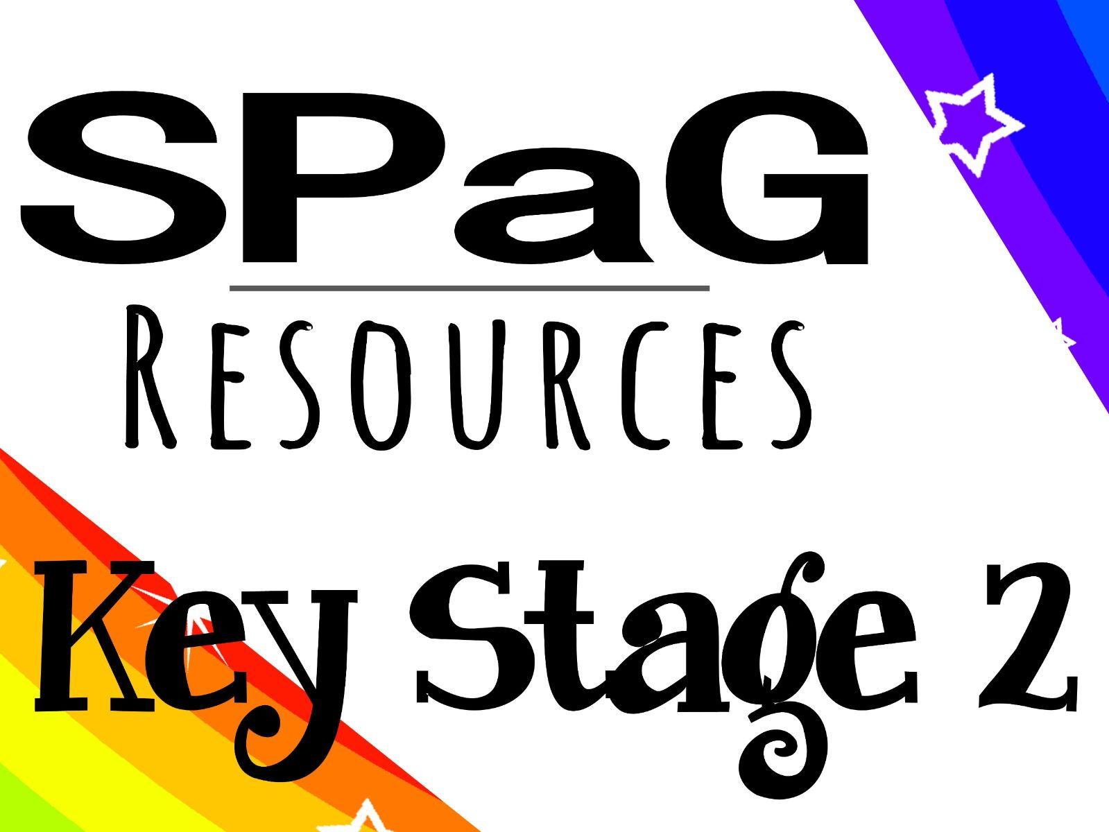 KS2 SPaG Resources Bundle