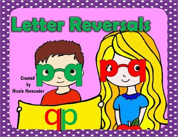 Reversals ('p' and 'q' Printables)