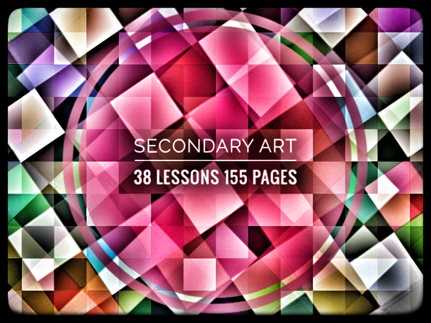 Secondary Art Resource. 38 Linked Art lessons