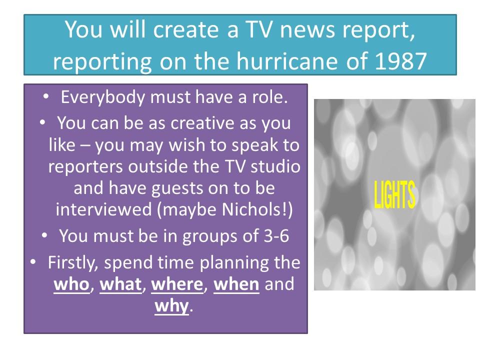 Hurricane Hits England - Grace Nichols