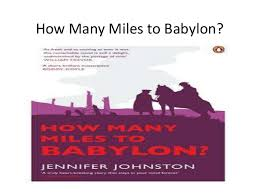 """""""How Many Miles to Babylon?"""" themes revision support package"""