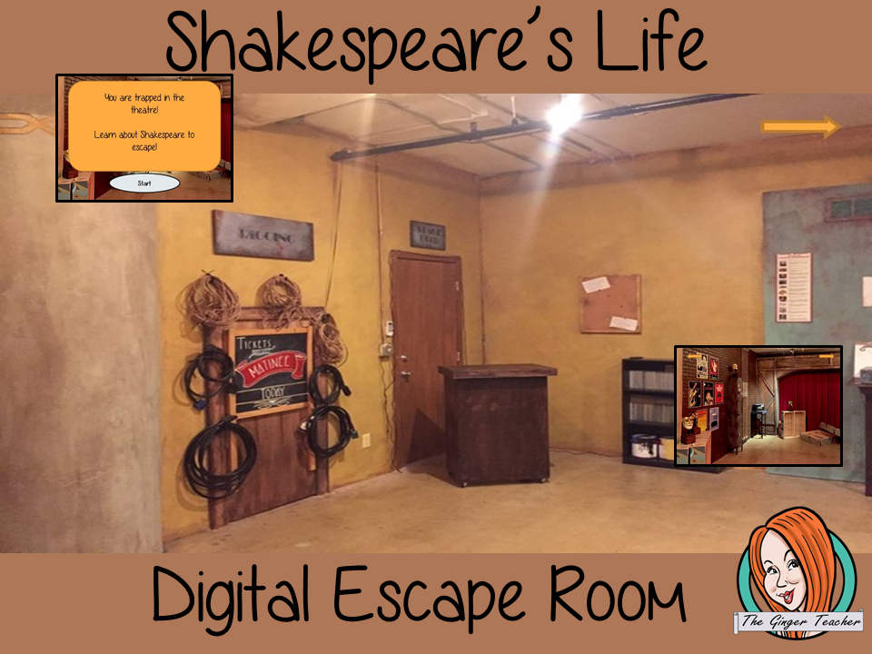 Shakespeare's Life Escape Room