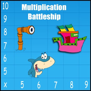 Multiplication Game Battleship My Most Popular Game