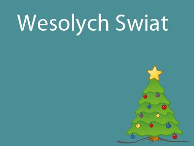 Wesołych Świąt - Polish Christmas
