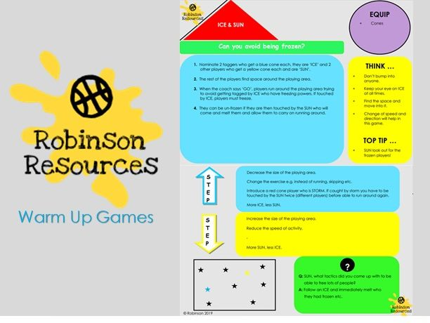 Warm Up Games - Physical Education