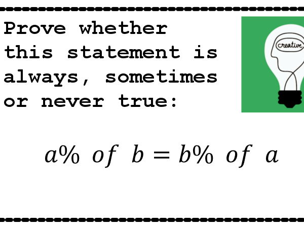 Percentage Puzzle (+ Stickers 7160)
