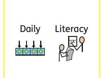 Literacy home learning pack