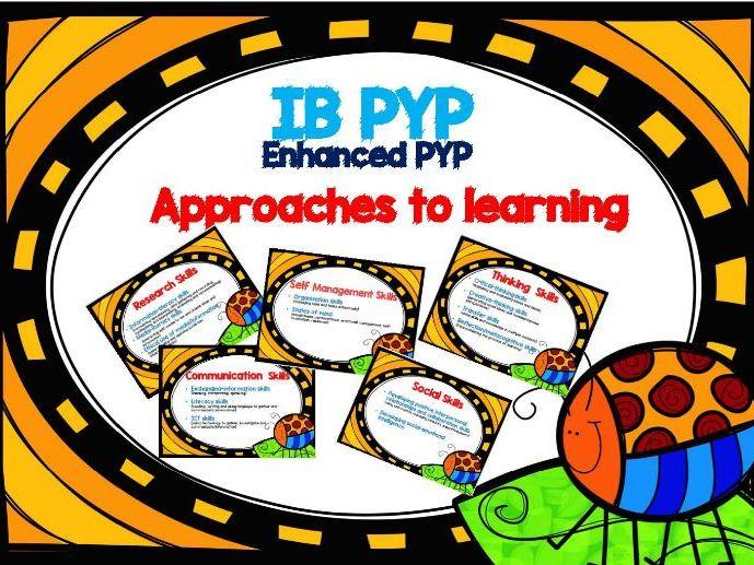 ATL Skills ( Enhanced Version) - IB PYP