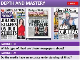 AQA RS ISLAM PRACTICES:  Jihad: Greater and Lesser