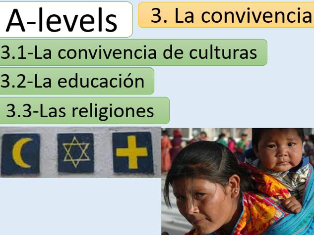 """""""La convivencia"""" New AQA A Level (Word document)"""