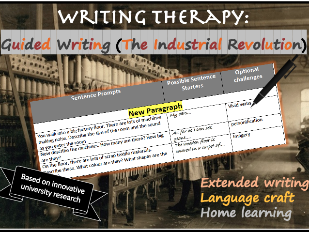 Home Guided Writing (Industrial Revolution)