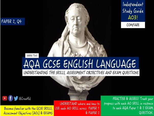 Pupil Revision Guide, NEW AQA GCSE English Language, AO3 COMPARE (ebook)