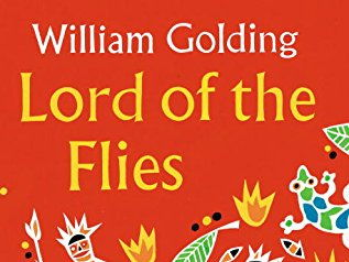 Lord of The Flies- Pig-shaped Word Cloud