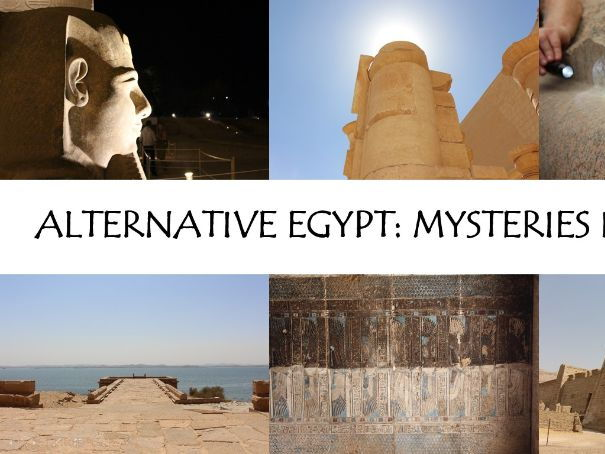 Alternative Egypt: Mysteries in Stone