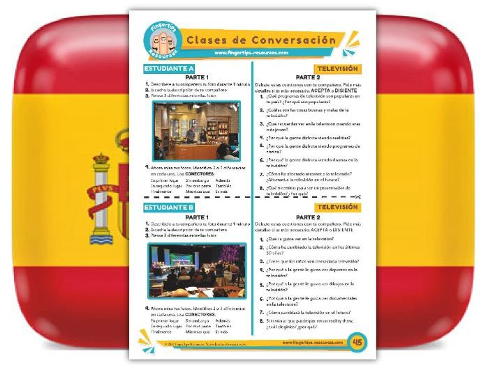 Televisión - Spanish Speaking Activity