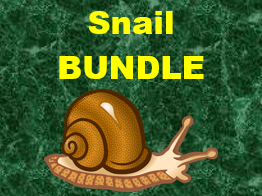 Escargot (Snail in French) Basics Bundle