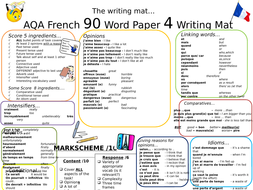 AQA GCSE New Spec Writing Mats