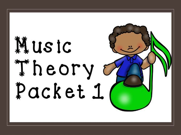 Music Theory Packet 1