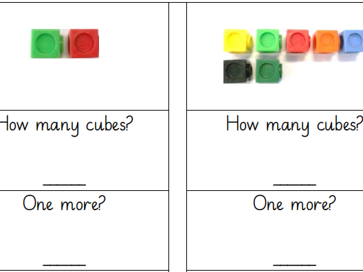 Cubes One More One Less