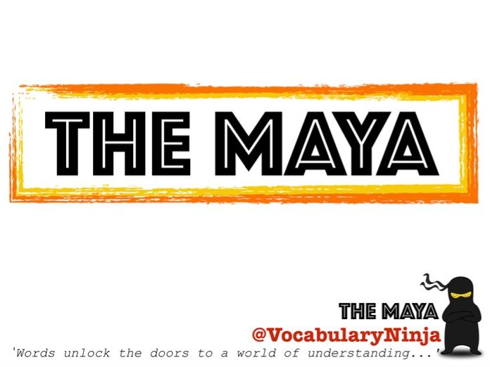 The Maya Topic Vocabulary Pack