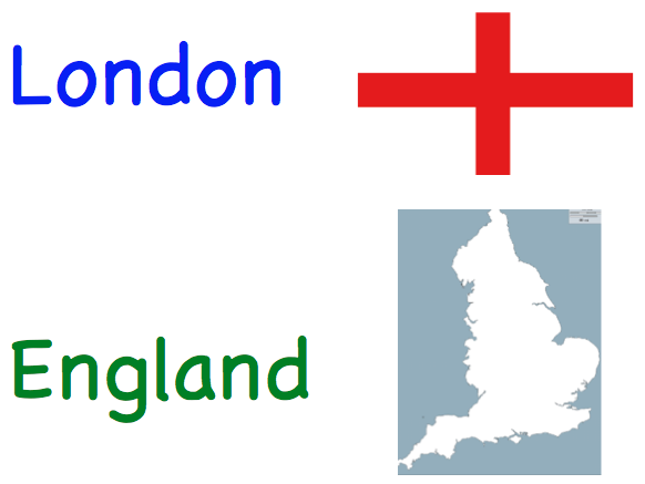 UK Countries and Cities Matching Game