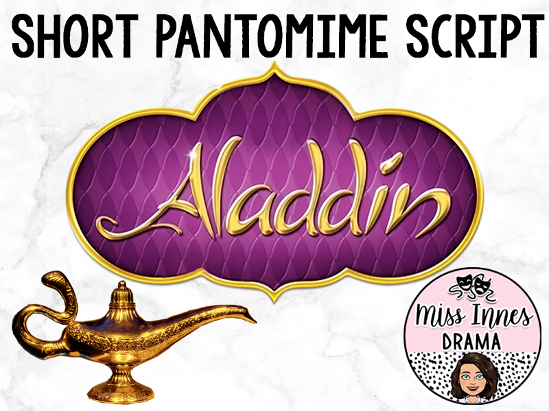 Short Aladdin Pantomime Script (20 mins)