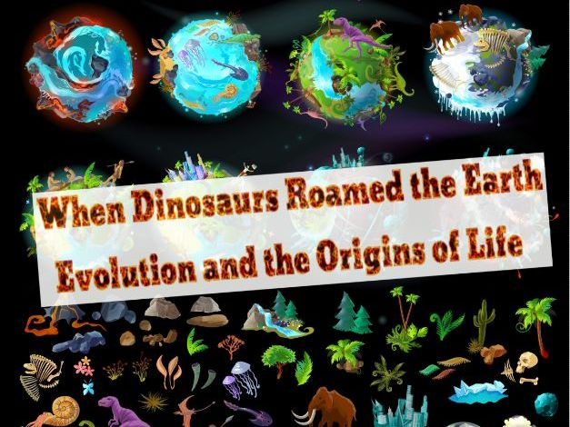 Evolution For Kids Audiobook & Activity