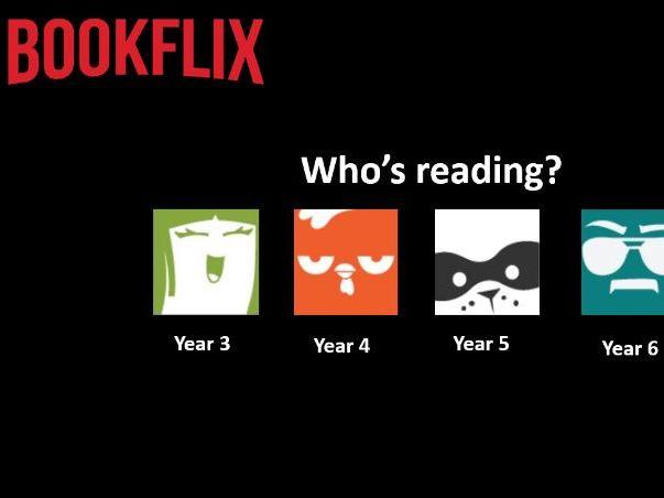 Bookflix - Template