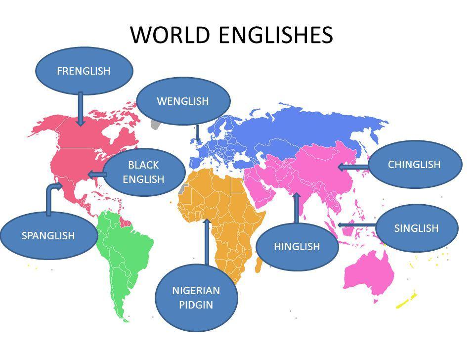 World Englishes Unit - A-Level English Language