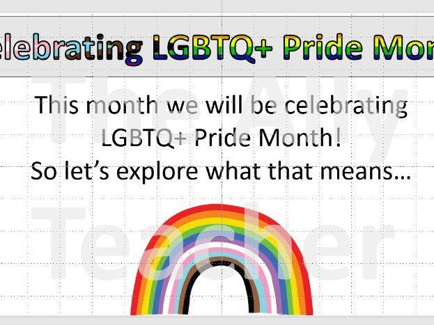 KS1 KS2 Primary Assembly Pride Month