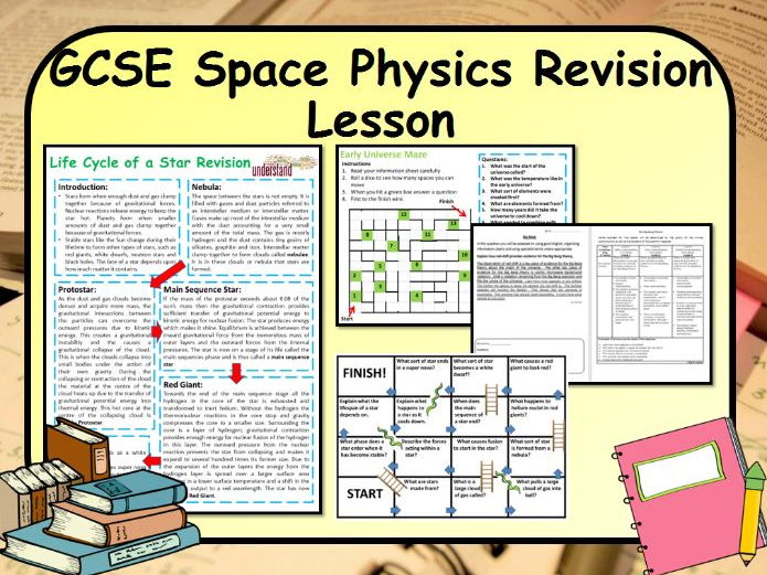 New GCSE Physics Space & the Universe Revision Lesson