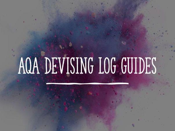 AQA Devising Log Presentation Guides