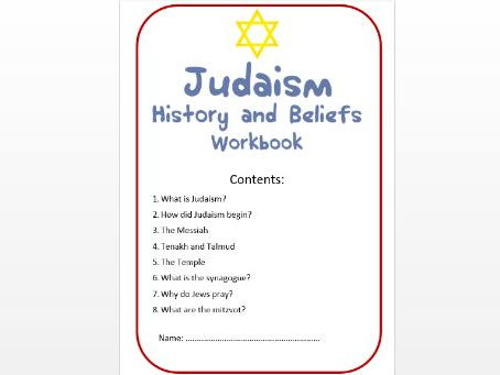 Judaism: History and Beliefs Workbook: Med/Mid Ability