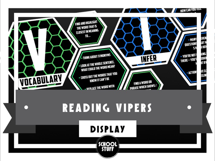 Reading Vipers Display - School Stuff