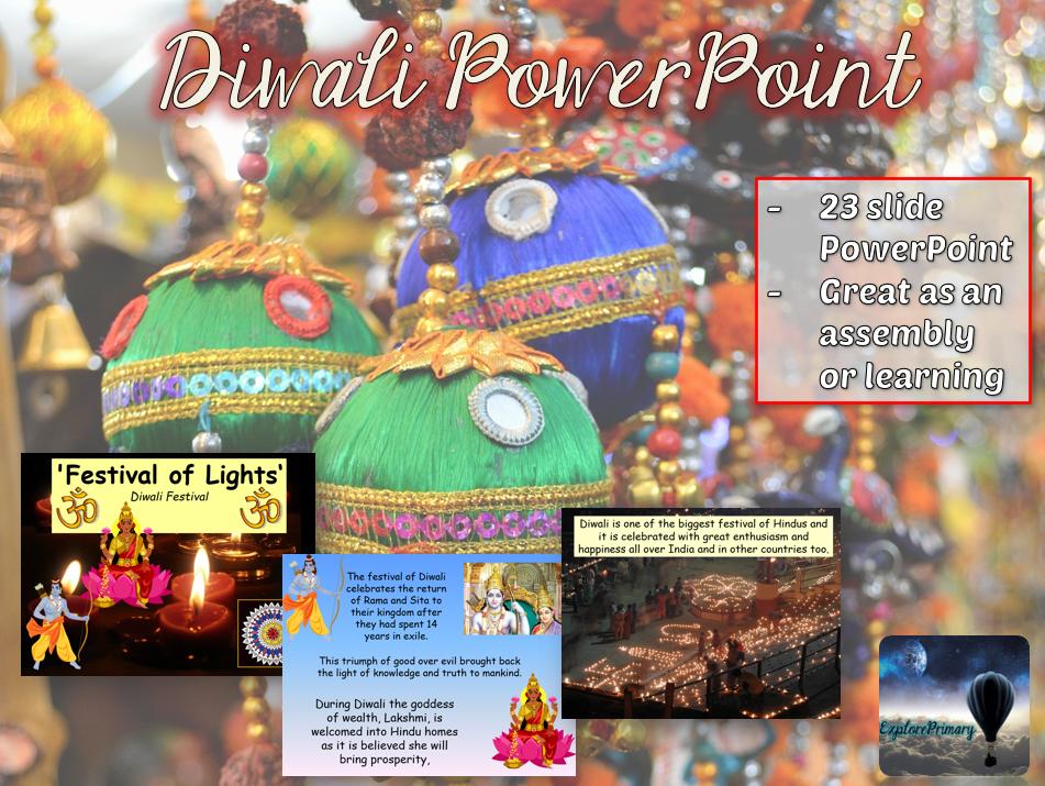 Diwali PowerPoint - 23 slides