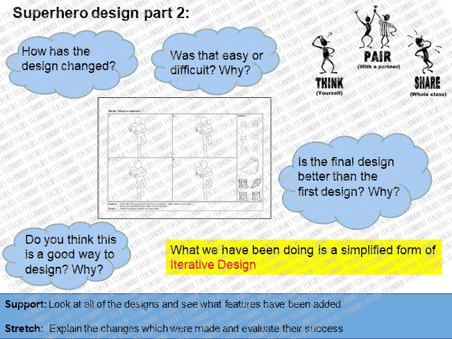 Iterative Design Starter Activity