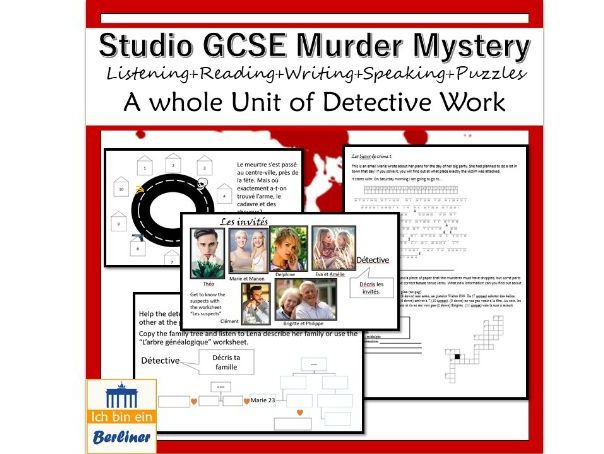 Studio French Murder Mystery - Module1 Qui suis-je?