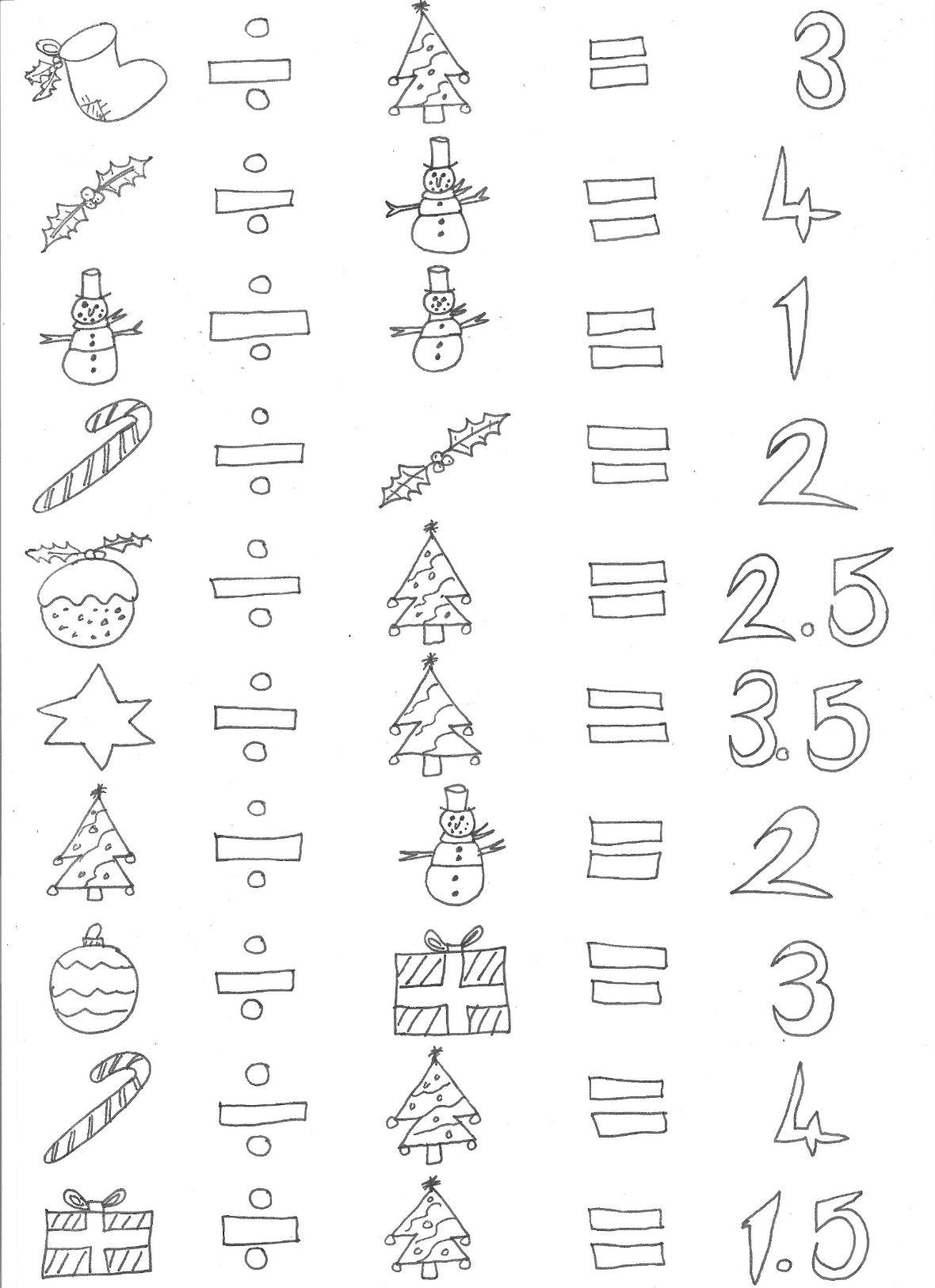Christmas Time Maths Bundle