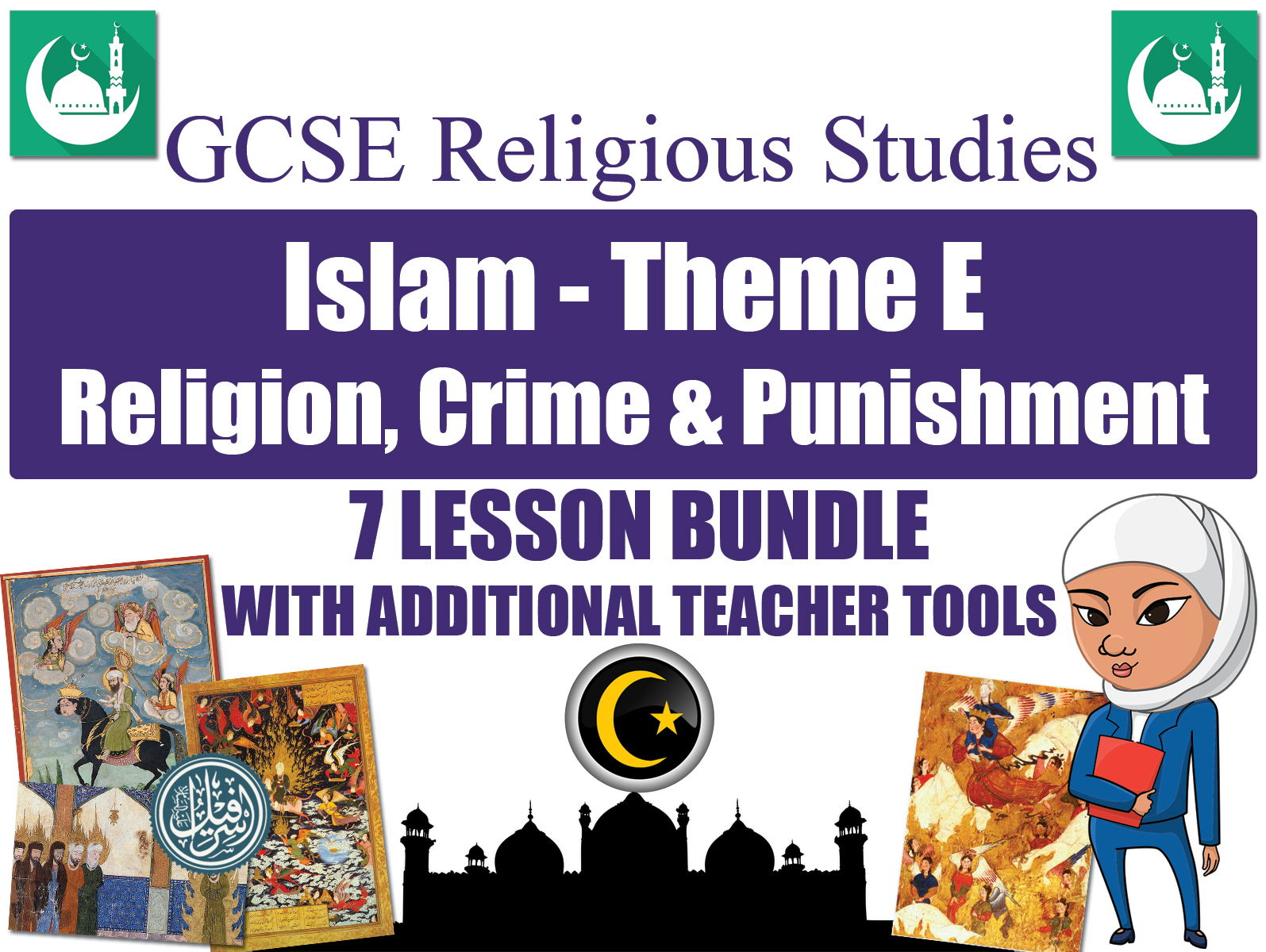 GCSE Islam - Religion, Crime & Punishment (7 Lessons)