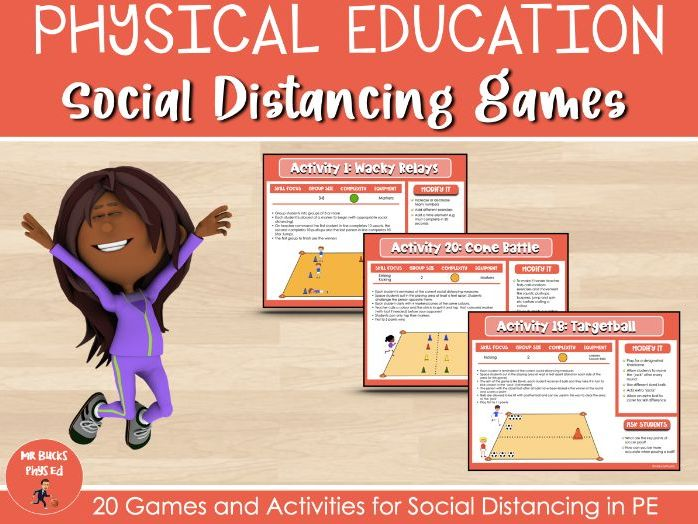 Physical Education - Social Distancing Games
