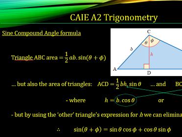 CAIE A2 9709 Maths Trigonometry