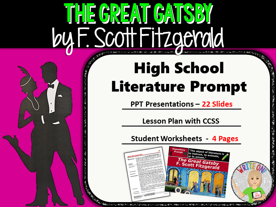 an analysis of the great gatsby by fitzgerald Check out f scott fitzgerald's the great gatsby video sparknote: quick and easy the great gatsby synopsis, analysis, and discussion of major characters and.