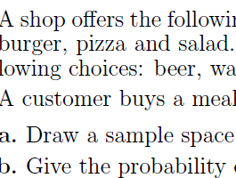 Probability test no 2 (with solutions)