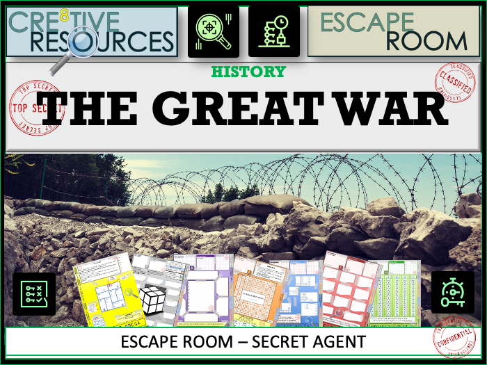 The Great War History Escape Room