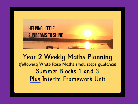 Y2 Summer 2 Maths Planning: 3 Blocks (Time, Position & Direction, Interim Framework)