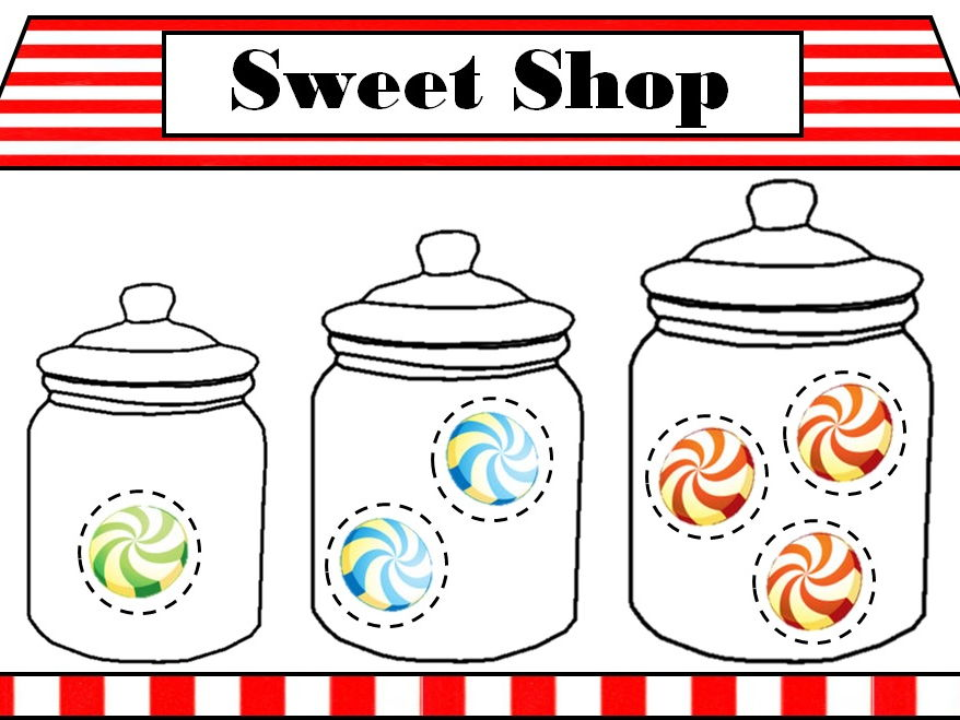 Sweet Shop Game - Printable & ActivInspire